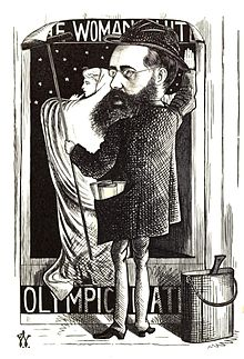 Wilkie Collins cartoon