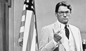 Atticus Finch and US flag